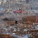 Đức Thánh Cha Phanxicô cầu nguyện cho các nạn nhân của vụ nổ kinh hoàng tại Lebanon