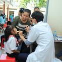 Khám chữa bệnh thiện nguyện của Nhóm Bác Sĩ Martinô Yêu Thương tại Gx Thái Hiệp