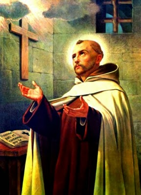 John Joseph of the cross praying